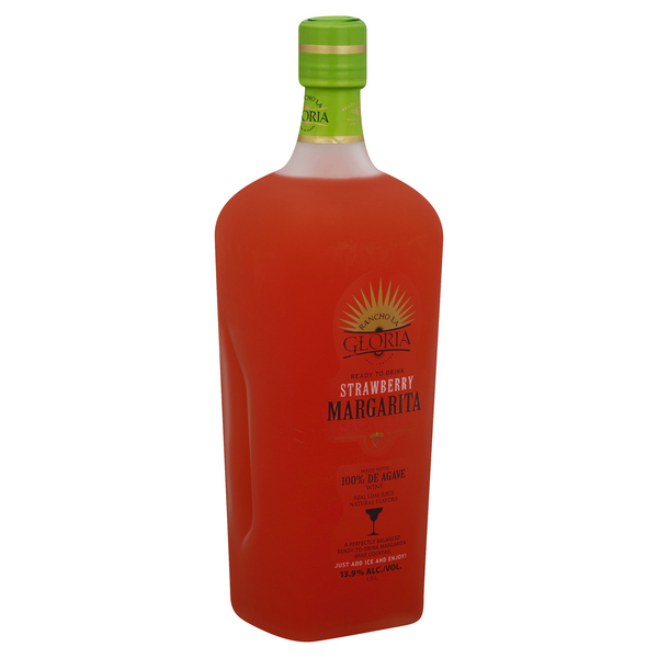 Rancho La Gloria Strawberry Margarita Hy Vee Aisles Online Grocery Shopping