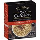 BetterOats 100 Calories  Maple & Brown Sugar Instant Oatmeal 10 Ct