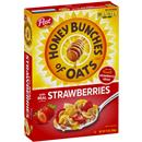 Post Honey Bunches of Oats With Red Strawberries Cereal